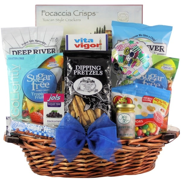 Sugar Free Get Well Wishes! Get Well Gift Basket