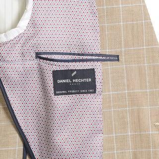 Daniel Hechter Men's Wool Blend Windowpain Plaid Sport Coat