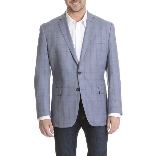 Shop Daniel Hechter Men S Windowpane Plaid Fine Wool Sport