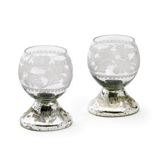 Mercury and Glass Votives