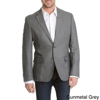 Daniel Hechter Men's Garment Washed Soft Linen Sport Coat (4 options available)