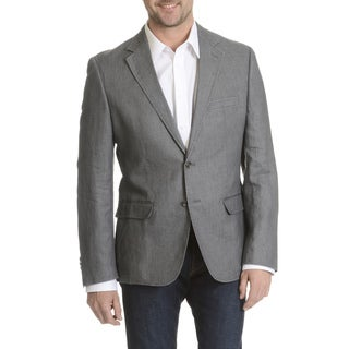 Daniel Hechter Men's Garment Washed Soft Linen Sport Coat (As Is Item)|https://ak1.ostkcdn.com/images/products/11780856/P18692013.jpg?_ostk_perf_=percv&impolicy=medium