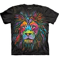 The Mountain Mane Lion Cotton T-shirt