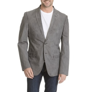 Daniel Hechter Men's Garment-washed Trim Fit Sport Coat