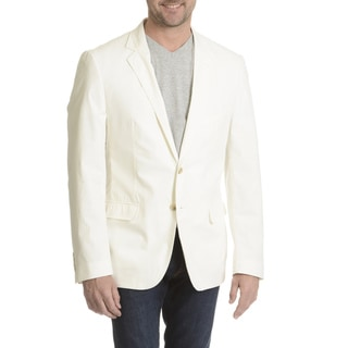Daniel Hechter Men's Garment Washed Trim Fit Sport Coat