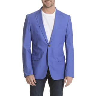 Daniel Hechter Men's Garment Washed Trim Fit Sport Coat|https://ak1.ostkcdn.com/images/products/11780876/P18692020.jpg?impolicy=medium