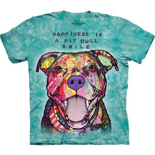 The Mountain Pit Bull Smile T-shirt