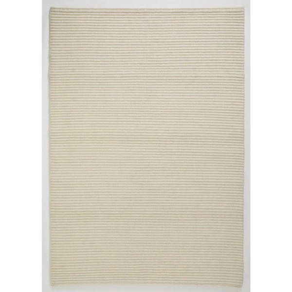 Handmade M.A. Trading Indo Manchester White Rug - 4'6 x 6'6 (India)