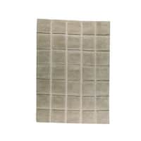 M.A. Trading Indo Hand-knotted Manhattan Beige Rug (6'6 x 9'9)