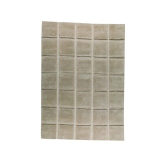 M.A. Trading Indo Hand-knotted Manhattan Beige Rug (9' x 12')