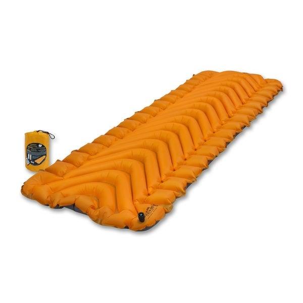 Klymit Orange Insulated Static V Lite Camping Pad