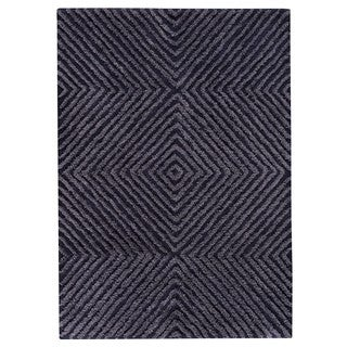 M.A.Trading Indo Hand-tufted Buffalo Blue Rug (8'3 x 11'6)