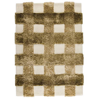 M.A.Trading Indo Hand-tufted Kent Khaki Rug (3' x 5'4)