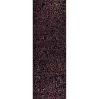 M.A.Trading Indo Hand-woven Berber Brown Rug (2'8 x 7'10)