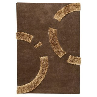 M.A. Trading Indo Hand-tufted Odessa Brown Rug (8'3 x 11'6)