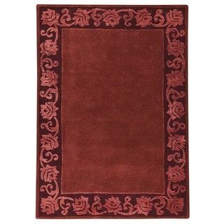 M.A.Trading Indo Hand-tufted Vienna Plum Rug (8'3 x 11'6)