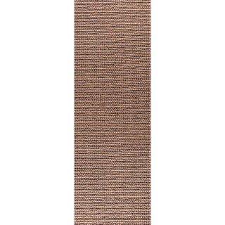 M.A.Trading Indo Hand-woven Ladhak Fd-03 Dark Beige Rug (2'8 x 7'10)