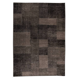 M.A. Trading Indo Hand-woven Lina Grey Rug (5'6 x 7'10)