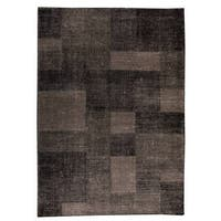 M.A. Trading Indo Hand-woven Lina Grey Rug - 5'6 x 7'10