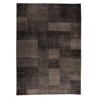 M.A.Trading Indo Hand-woven Lina Grey Rug (6'6 x 9'9)