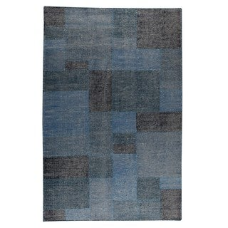 M.A.Trading Indo Hand-woven Lina Turquoise Rug (8'3 x 11'6)