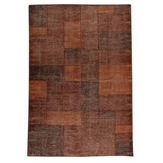 M.A.Trading Indo Hand-woven Lina Terra Rug (6'6 x 9'9)