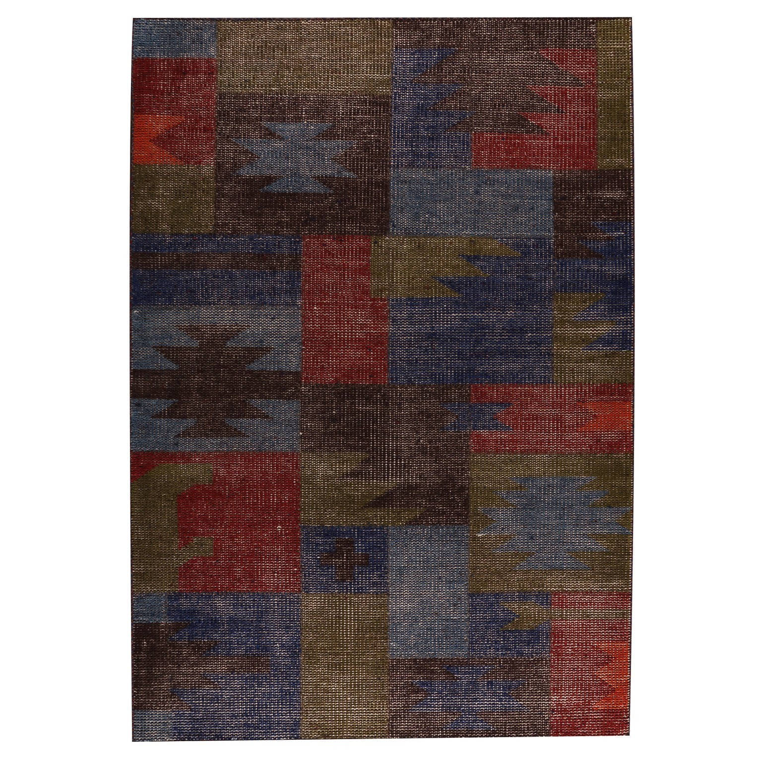 M.A. Trading Indo Hand-woven Lina Classic Multi Rug (6'6 ...
