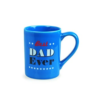 Kityu Gift Best Dad Ever 16-ounce Ceramic Mug