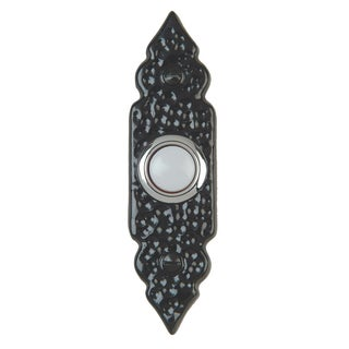 Thomas & Betts DH1610L Carlon Black Wrought Iron Finish Wired Push Button
