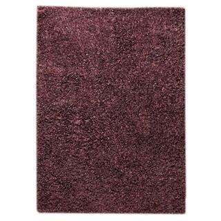 M.A. Trading Indo Hand-woven Solo Sorso Purple Rug (5'2 x 7'6)