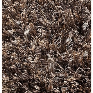 M.A. Trading Indo Hand-woven Sorso Dark Beige Rug (5'2 x 7'6)