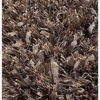 M.A. Trading Indo Hand-woven Sorso Dark Beige Rug (5'2 x 7'6)