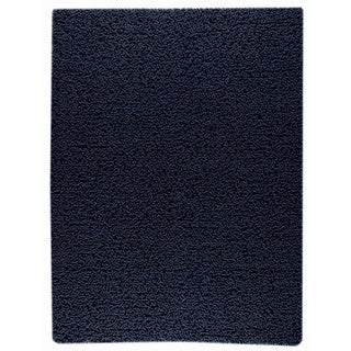 M.A.Trading Indo Hand-woven Square Charcoal Rug (9' x 12')