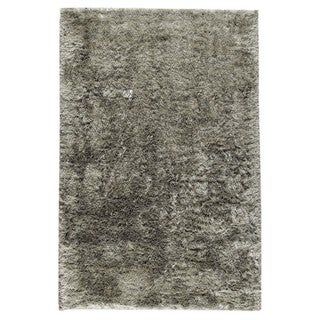 M.A.Trading Indo Hand-woven Sunshine Silver Rug (6'6 x 6'6)