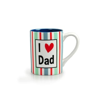 Kityu Gift I Love Dad 16-ounce Ceramic Mug