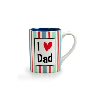 Kityu Gift I Love Dad 16-ounce Ceramic Mug