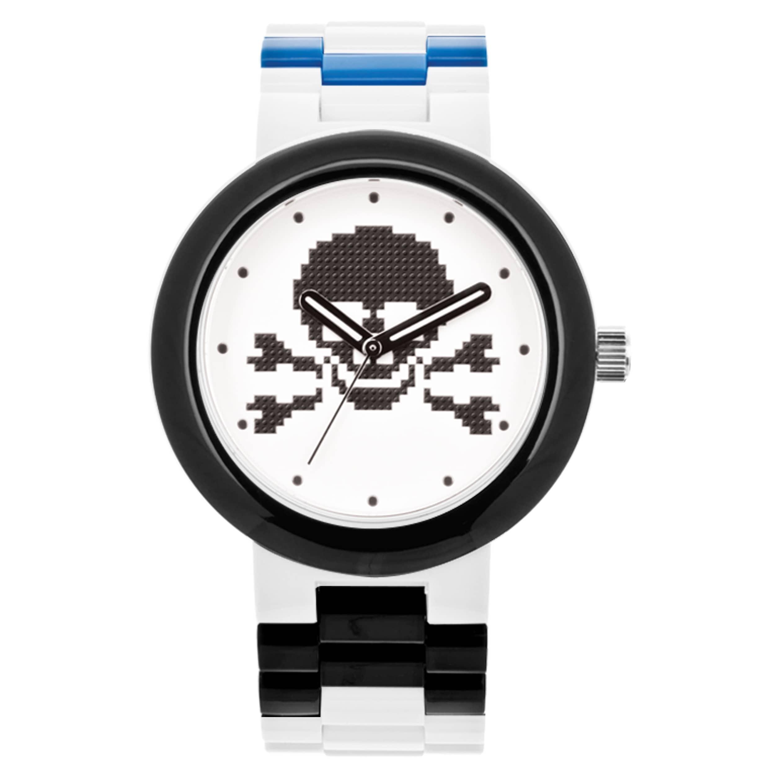 Lego Skull' Adult Interchangeable Band Analog Watch (Skul...