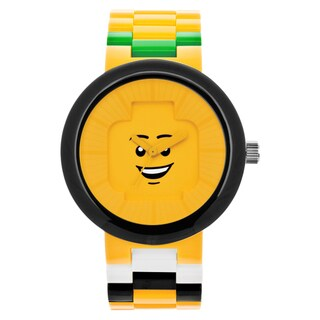 Lego 'Happiness' Adult Interchangeable Band Analog Watch