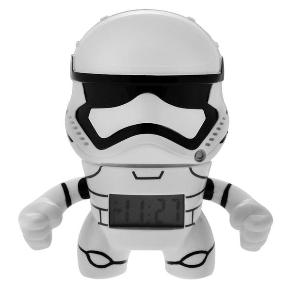 BulbBotz Star Wars Kid's Mini Stormtrooper Clock