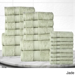 Casa Platino Soft and Luxurious Cotton 600 GSM 20-Piece Towel Set (More options available)