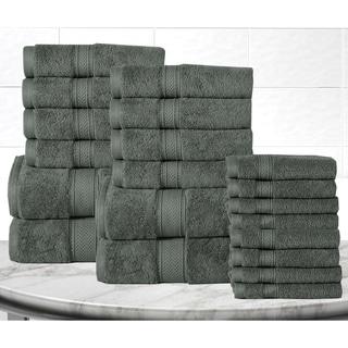 Casa Platino Soft and Luxurious Cotton 600 GSM 20-Piece Towel Set