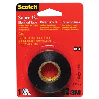 "3M 200NA 3/4""x 450"" Scotch Electrical Tape"