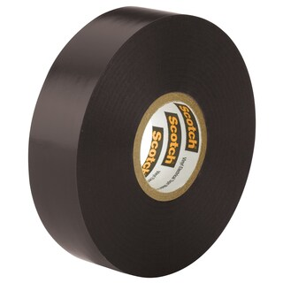 "3M 6143-BA-100 3/4"" x 66' Scotch Super 88 Vinyl Electrical Tape"