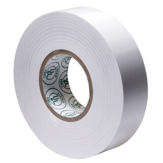 "GB Gardner Bender GTW-667P 3/4"" X 66' White Electrical Tape"