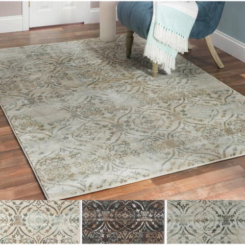 Admire Home Living Plaza Brazil Area Rug (5'3 x 7'3)