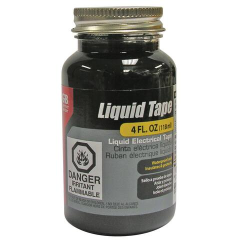 GB Gardner Bender LTB-400 4 Oz Black Liquid Electrical Tape