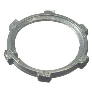 """Halex 01920B 2"""" Zinc Die Cast Locknut"""