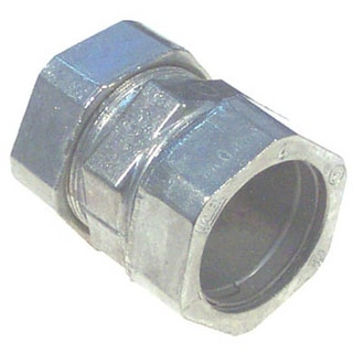 "Halex 02212 1-1/4"" EMT Compression Coupling"