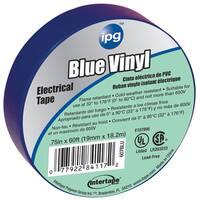 "Intertape Polymer Group 85831 3/4"" x 60'  Blue Vinyl Electrical Tape"