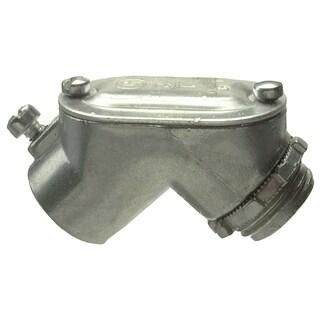 "Halex 14305 1/2"" Zinc Pull Elbow"